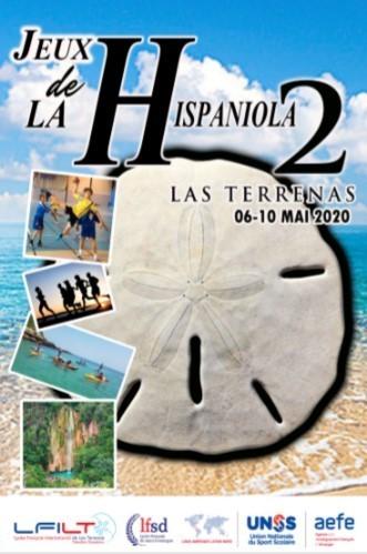Affiche de la 2ème édition des Jeux de la Hispaniola
